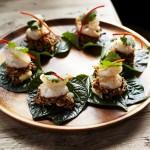 MIENG COME - Prawn on Betel Leaf